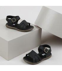 sandália papete infantil sonho de criança preta