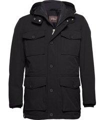 colton jacket parka jas zwart oscar jacobson