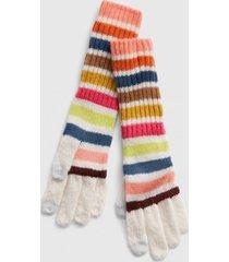 guante rayado multicolor gap