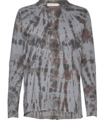 mathilda blouse lange mouwen grijs rabens sal r
