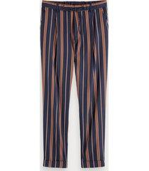 scotch & soda blake - striped trousers regular slim fit