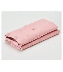 amaro feminino casa trópico par de fronhas nice 230 fios, rosa