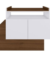 aparador buffet/bar cubic branco estilare móveis