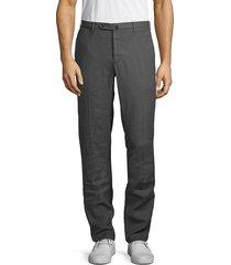 incotex men's micky chino pants - medium pink - size 32