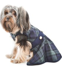 parisian pet scottish plaid taffeta dog dress