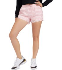 guess logo-print shorts