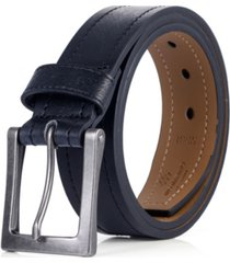 mio marino men's jean prong leather belt