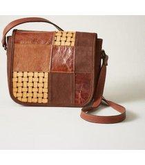 sundance catalog women's josephina crossbody bag in brown mult