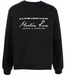 90-91 autumn & winter collection sweatshirt black
