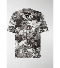 valentino dreamatic print shirt