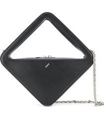 coperni structured tote bag - black