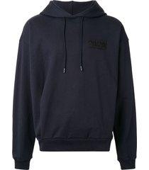 classic drawstring logo hoodie