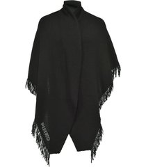 pinko embroidered logo scarf - black