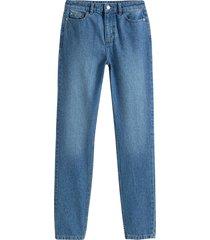 jeans regular, rak modell