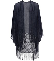 poncho (blu) - bpc bonprix collection