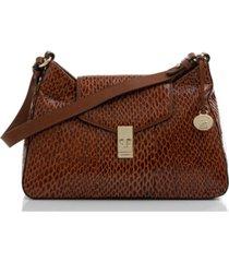 brahmin esme leather shoulder bag