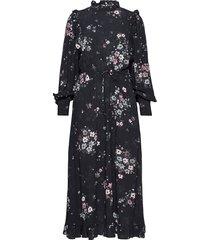 dress maxiklänning festklänning svart replay