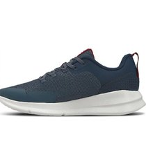 zapatilla azul under armour charged essential