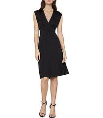 cap sleeve a-line dress