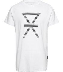 jbs of denmark t-shirt w/print t-shirts short-sleeved vit jbs of denmark