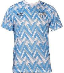 camiseta celeste umbro pre match atlético tucumán