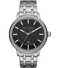 relógio armani exchange ax1455/1pn masculino