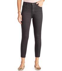 women's sam edelman the stiletto high waist raw hem crop skinny jeans