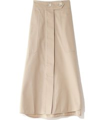 drill skirt in sand