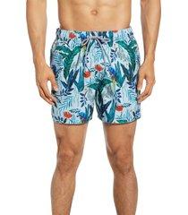 men's ted baker london borrla slim fit swim trunks
