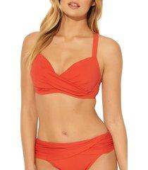 women's bleu by rod beattie underwire bikini top