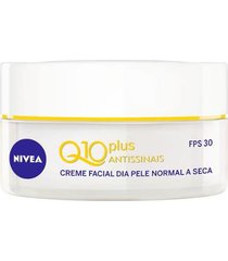 creme facial antissinais dia nivea q10 plus fps30 52g