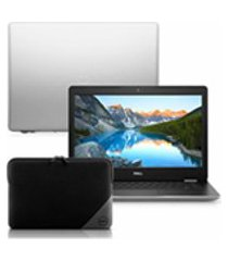notebook dell inspiron i14-3480-m30n core i5 4gb 1tb windows 10 prata 14quot; + capa essential para notebook 15.6quot;
