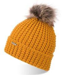 brodrene czapka damska zimowa z pomponem cz21