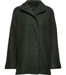 helle jacket 6182 wollen jack jack zwart samsøe & samsøe