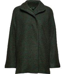helle jacket 6182 wollen jack jack zwart samsøe samsøe