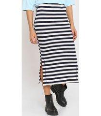 falda azul mancini