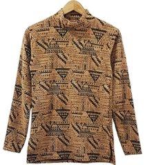 sweater beige mecano chenille plus size