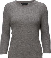 m-tui pullover gebreide trui grijs diesel women