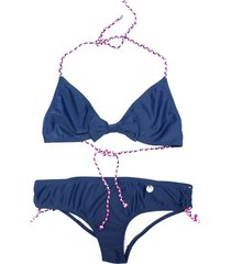 bikini azul mapamondo