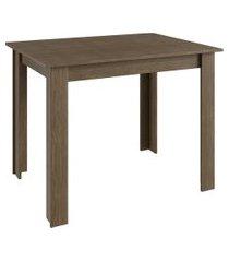 mesa fixa para cozinha até 4 lugares móveis canção ameixa negra