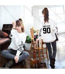 kpop shinee women sweater taemin key onew minho hoodie pullover sweatershirt