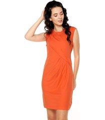 vestido naranja nautica
