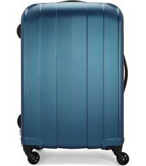 maleta  azul colore
