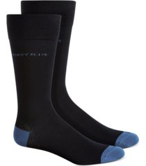 perry ellis men's logo socks