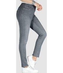 jeansleggings miamoda grey
