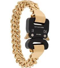 1017 alyx 9sm clasp buckle bracelet - gold
