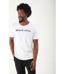 t-shirt zinzane maré alta masculina - masculino