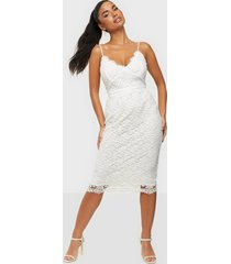 nly eve crochet bodycon dress fodralklänningar