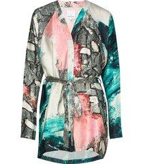 reidar kimono dress korte jurk multi/patroon hálo