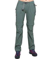 pantalon desmontalo verde musgo haka honu